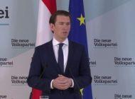 Bundeskanzler Kurz hält vorerst an FPÖ-Innenminister fest