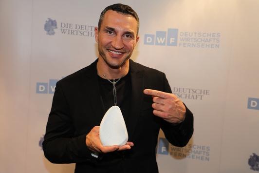 Die Deutsche Wirtschaft kürt 20 Innovatoren des Jahres und Dr. Wladimir Klitschko nimmt Ehrenpreis entgegen