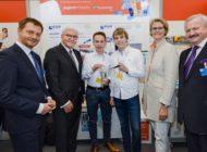 Bundespräsident Steinmeier ehrt die Jugend forscht Bundessieger 2019