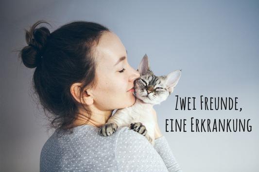 Zwei Freunde – eine Erkrankung / Am 17.05. ist Welthypertonietag: Hoher Blutdruck auch für Katzen gefährlich