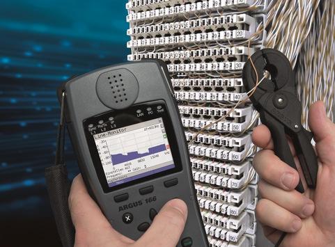intec präsentiert G.fast-Tester der Marke ARGUS® für 212 MHz und neues Zubehör auf der ANGA COM