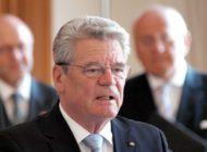 Altbundespräsident Gauck ruft zur Wahl auf