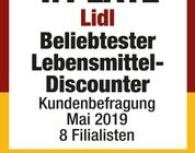Lidl ist beliebtester Lebensmittel-Discounter / Kunden wählen Lidl bei Umfrage des Deutschen Instituts für Service-Qualität auf den ersten Platz