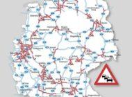 Großes Gedränge auf den Autobahnen / Pfingst-, Kurz- und Sommerurlauber treffen aufeinander / ADAC Stauprognose für 19. bis 23. Juni