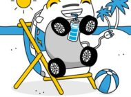 Auch ein Elektroauto braucht mal Urlaub / Perfekt für lange Urlaubsfahrten: Nutzer der ADAC e-Charge Karte bekommen 5 % Rabatt auf Clubmobile der ADAC Autovermietung
