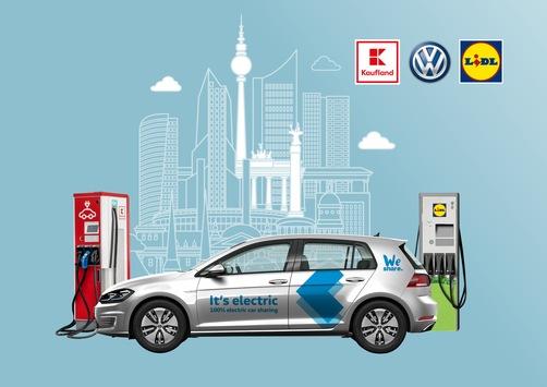 Gemeinsam urbane Mobilität gestalten: Lidl und Kaufland starten strategische Partnerschaft mit Volkswagen / Ausbau der E-Ladeinfrastruktur in Berlin als Win-Win-Situation für Kunden und Partner