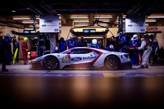 Erster privat eingesetzter Ford GT gewinnt die GTE Am-Klasse bei den 24 Stunden von Le Mans