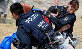 Ärger und Gewalt bei Polizei und Klima-Aktivisten