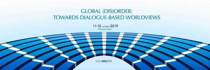 """Im Zuge des """"Dialogs der Zivilisationen"""" beschäftigt sich das Rhodos-Forum mit neuen Wegen für multilaterale Beziehungen – erste Keynote-Referenten stehen fest"""