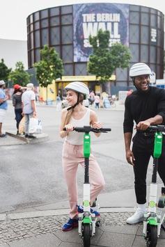 Der führende Anbieter von Elektrorollern Lime kommt heute nach Berlin