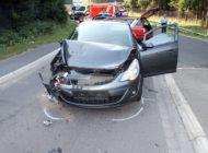 POL-OE: Zwei Verletzte bei Verkehrsunfall