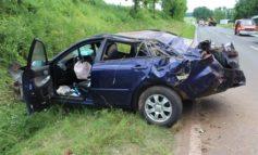POL-PDWIL: Unfall mit überschlagenem Auto und zwei Verletzten