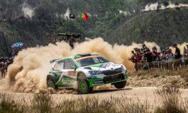 Rallye Italien Sardinien: Kalle Rovanperä und Jan Kopecky kämpfen für SKODA um den Sieg in der WRC 2 Pro-Kategorie