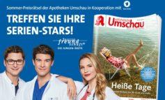 """Apotheken Umschau-Sommerrätsel: Treffen Sie Ihre Serien-Stars aus der Das Erste-Erfolgsserie """"In aller Freundschaft - Die jungen Ärzte""""!"""