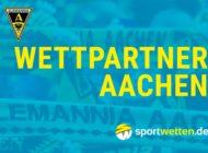 sportwetten.de wird offizieller Wettpartner von Alemannia Aachen