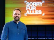 """""""Sorry für alles"""": Steven Gätjen präsentiert die neue Show im ZDF"""