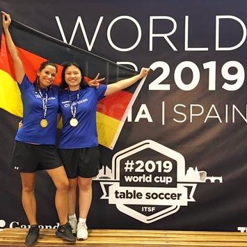 Weltmeistertitel für Deutschland / Lilly Andres holt Gold bei der Tischfußball-WM