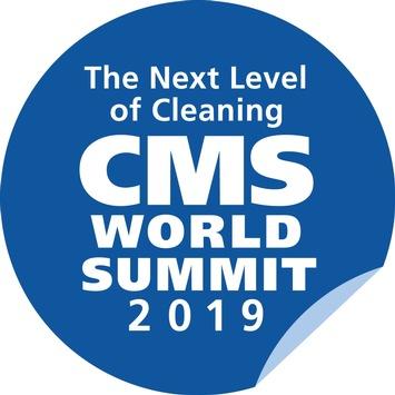 """Wissenstransfer auf Top-Niveau / Der CMS World Summit 2019 führt die Entscheidungsträger der globalen Reinigungsindustrie am 25. und 26. September zum Leitthema """"Inject Innovation"""" nach Berlin"""