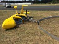 POL-ROW: Absturz eines Gyrocopters beim Start - kein Personenschaden