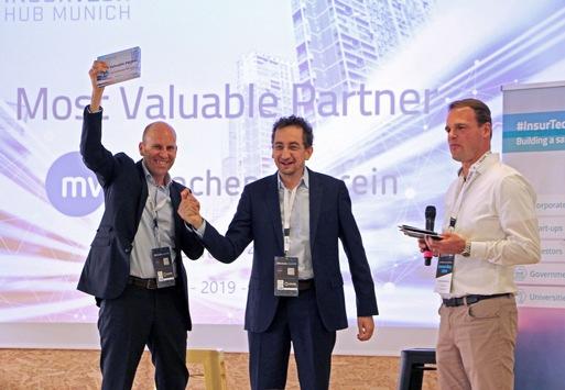 InsurTech Hub Munich zeichnet Münchener Verein für hohes Engagement aus