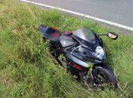 POL-OE: 61-Jähriger verliert Kontrolle über sein Motorrad