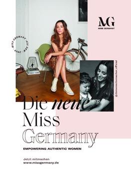 """Bauer Media Group und Miss Germany Corporation gehen strategische Partnerschaft ein – Mit einer gemeinsamen Mission: """"Empowering authentic women"""""""