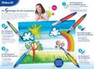 Neu: griffix Pinsel von Pelikan - Die 5 Richtigen für die Grundschule