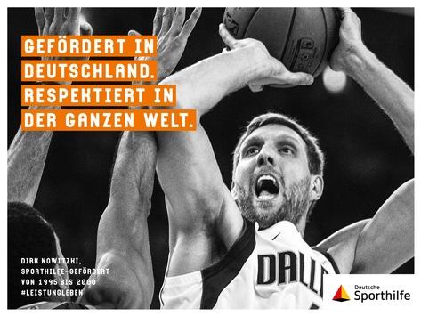 #leistungleben – Sporthilfe-Markenkampagne mit Basketball-Legende Dirk Nowitzki