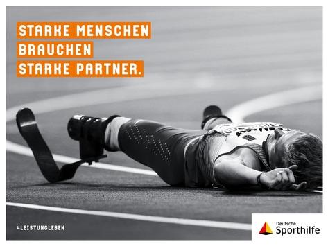 #leistungleben – Sporthilfe-Markenkampagne mit Paralympics-Sieger Johannes Floors