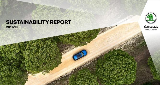 Nachhaltigkeitsbericht 2017/2018: SKODA mit Top-Ergebnis bei Umweltschutz, Ressourcenschonung und gesellschaftlichem Engagement
