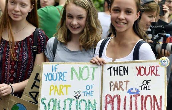 Die Klimastreik-Bewegung präsentiert ihre Charta