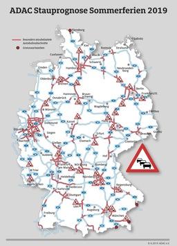Heimreiseautobahnen weiter dicht / Langes Feiertagswochenende in Bayern / ADAC Stauprognose für 14. bis 18. August