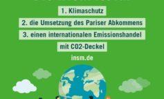 #INSMfürParis / INSM drängt auf wirksamen Klimaschutz
