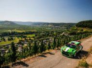 Rallye Deutschland: SKODA AUTO Deutschland Pilot Kreim als Dritter in der WRC 2 auf Podestkurs