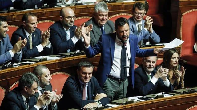 Niederlage für Salvini im Senat
