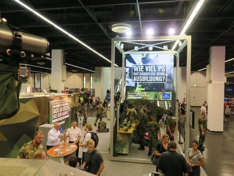 Bundeswehr auf der Gamescom 2019 – Jobs & Karriere im IT-Bereich