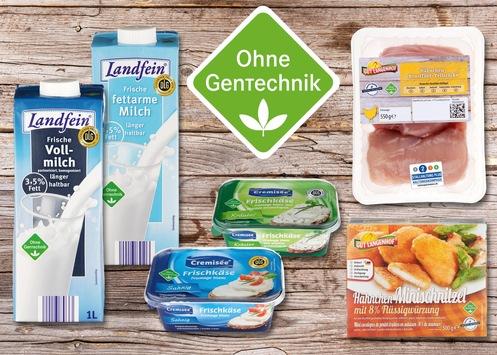 """NORMA: Die Kundenwünsche nach gentechnikfreien Lebensmitteln werden mit einem immer umfangreicheren Sortiment erfüllt! / Handelsunternehmen baut Sortiment mit dem """"Ohne Gentechnik""""-Siegel ständig aus"""