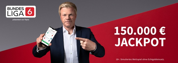 Bundesliga6: Bis zum 6. Spieltag werden garantiert 150.000EUR ausgeschüttet
