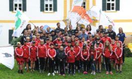 Sommercamp für junge Leukämiepatienten: Was Kinder schon immer von Philipp Lahm wissen wollten