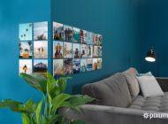 Wandbilder aufhängen, ohne zu bohren: Mit den neuen Pixum Squares immer wieder neue Styles kreieren
