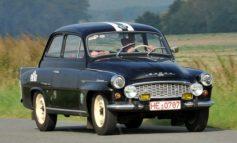 SKODA mit sieben Fahrzeugklassikern bei der Sachsen Classic Rallye am Start