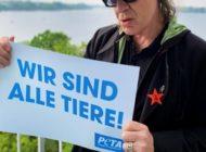 """Udo Lindenberg: """"Wir sind alle Tiere!"""" / Panikrocker gratuliert PETA Deutschland mit neuem Motiv zum 25-jährigen Jubiläum"""