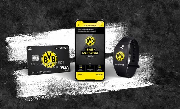 comdirect und BVB: Banking-Partner im Sinne der Fans