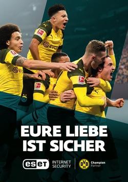 #MissionMeisterschaft: ESET wird Champion-Partner von Borussia Dortmund