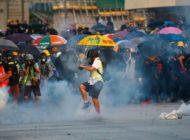 Neue Proteste und Zusammenstösse in Hongkong