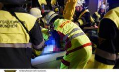 FW-M: Nächtlicher Verkehrsunfall(Feldmoching-Hasenbergl)