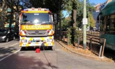 FW-F: Drei Verletzte und 50.000 EUR Sachschaden bei Verkehrsunfall mit einer Straßenbahn auf der Wittelsbacher Allee im Ostend