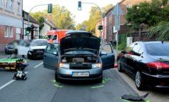 POL-GE: Frau bei Verkehrsunfall leicht verletzt