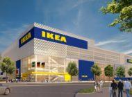 IKEA Karlsruhe feiert Richtfest / Mit Rad, E-Auto oder Straßenbahn zum Shoppen
