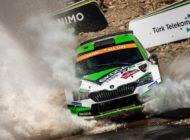 Rallye Türkei Marmaris: Kopecky Zweiter in der WRC 2 Pro - SKODA baut WRC 2 Pro-Meisterschaftsführung aus